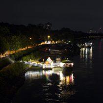 (06) Nächtliches Kölner Panorama, Blick von der Rodenkirchener Brücke