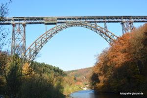 Müngstener Brücke bei Solingen; Foto: Elke Glatzer