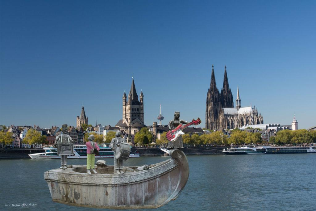 Das Narrenschiff auf dem Rhein