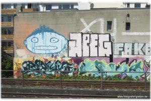Graffiti in Düsseldorf-Wehrhahn