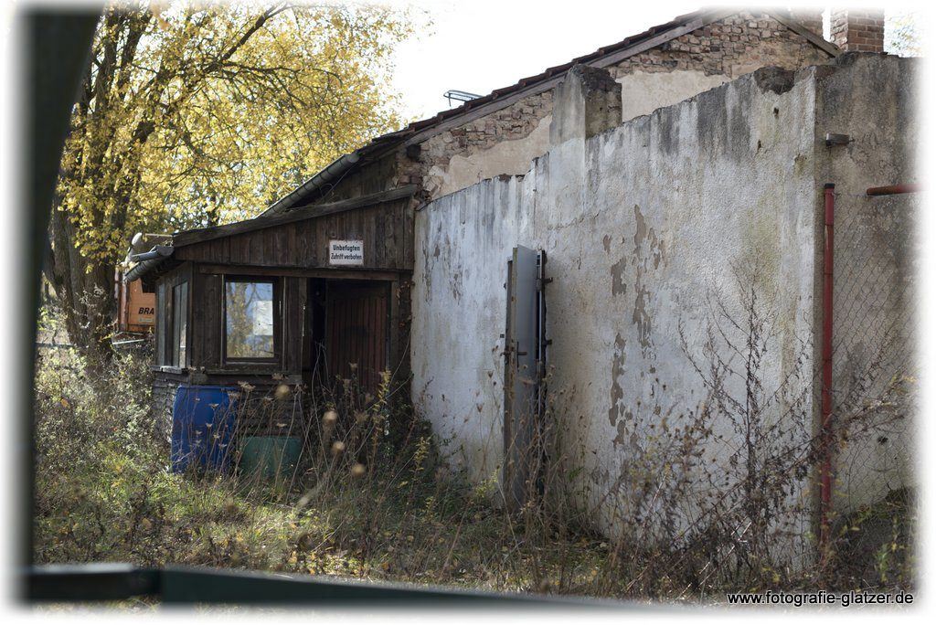 Gebäude einer ehemaligen Bergbauanlage bei Kall