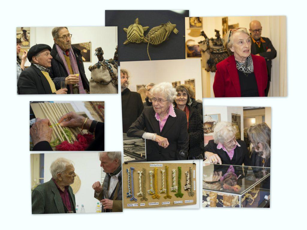 Textilien-Ausstellung in der Galerie Smend