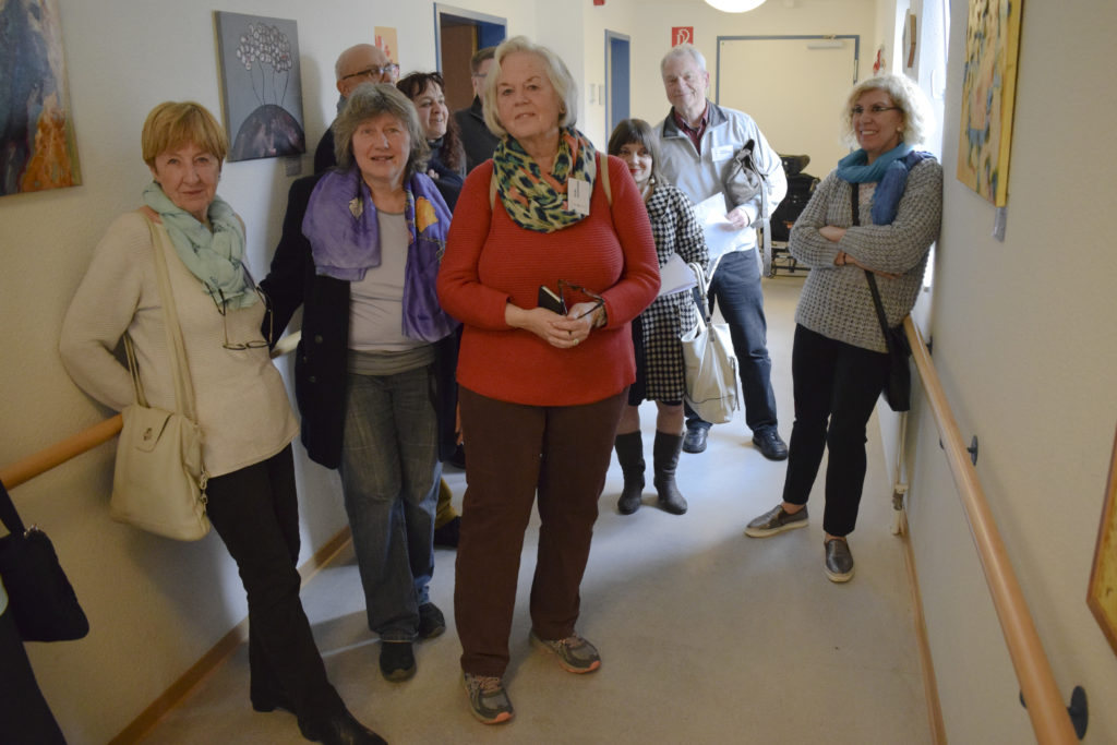 Vernissage mit dem KünstlerTreff Longerich im Seniorenzentrum St. Josephshaus, Annostraße
