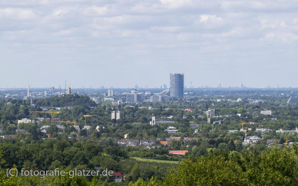 Blick vom Rodderberg Richtung Köln