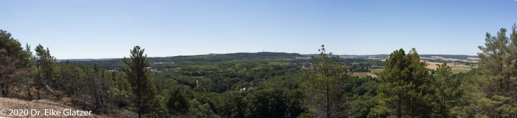 Panorama, Blickrichtung Süden
