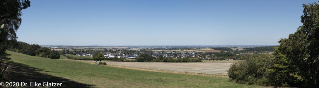 Panoramablick über die Zülpicher Börde hinweg